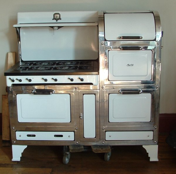 Vintage Electric Stoves And Ovens ~ Stoves unrestored cookstoves wood gas