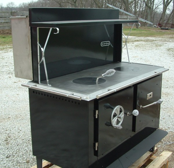 Kitchen Queen, Kitchen Queen Cookstove, u.l. listed Cookstove - Wood Burning Cook Stove