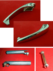 Chambers Burner, Griddle, Broiler, Oven Handles - Flash Tubes